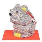 No.2006-A(箱なし)【ちゅう坊・グレー】 ギフトに最適な干支木目込み。贈答品にオススメの完成品です。