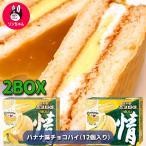 オリオン 「リニューアル情」チョコパイ」オリオンバナナ味チョコパイ(12個入りx 2箱)バナナの香り