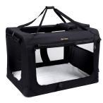 FEANDREA キャリーバッグ 中大型犬 70×52×52cm 犬用 ペットキャリー 小動物 室内用可 折り畳める NPDC70H
