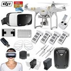 iphone 4s - ドローン DJI Phantom 3 Professional Quadcopter Drone Bundle with Zeiss VR One Virtual Reality Headset & FPV