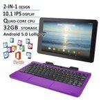 ショッピングOffice ブルートゥースヘッドホン RCA Viking Pro Flagship Purple Edition 10.1 Touchscreen 2 In 1 Tablet Laptop, Detachable Keyboard, Free Office Moblie APP,