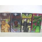 ロボット Universal Monsters 1991 Set Of 4 Tin Wind Up Mechanical Operated Walking Robot Toys - Mummy, Creature from the Black Lagoon, Frankenstein,