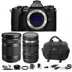 カメラ Olympus OM-D-E-M5 Mark II with 12-50 and 40-150 5.6 lens plus Focus Accessory Bundle