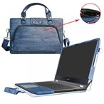 2 in 1 PC Acer Aspire R 15 Case,Labanema Coustom Designed Protective PU Cover + Portable Carrying Bag With Handle Shoulder Strap For 15.6