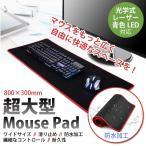 マウスパッド 超大型 マウスパッド キーボード メール便送料無料 肘・疲労軽減 光学式・レーザー式・ブルーLED式対応 デザイナー ポイント消化