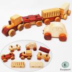 知育玩具 1歳 1歳半 木製 車 赤ちゃん 汽車セット 磁石で連結 のりものおもちゃ ミニカーつき おもちゃ 1才 2歳 8ヶ月 10ヶ月 男の子