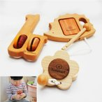 木のおもちゃ 赤ちゃん ◆ 幼児楽器おもちゃ3個セット ◆ ベビー  1歳 2歳 知育玩具 リズム遊び 音の鳴るおもちゃ 誕生日 ギフト スプソリ
