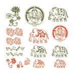 【送料激安82円〜】ツメキラ(TSUMEKIRA)M-ASA-201メンズ・スタイルアジアンレッド・グリーン