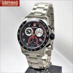 ウェンガー 腕時計 70798 海外モデル バタリオン クロノ ブラック×シルバー メンズ (SB) (長期保証3年付)
