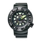 シチズン プロマスター BN0177-05E マリン プロフェッショナル300mダイバー エコ・ドライブ ウレタンバンド メンズ腕時計 (長期保証5年付)