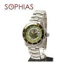 ルシアン ペラフィネ DR01 自動巻き リーフ カーキ 腕時計 (ST) (長期保証3年付)