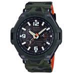 ショッピングGW カシオ Gショック GW-4000SC-3AJF 腕時計 迷彩グリーン アナログ 電波ソーラー (長期保証10年付)