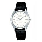 セイコー ドルチェ SACM171 SEIKO DOLCE 薄型 クオーツ腕時計 ワニ革ベルト メンズ (長期保証5年付)