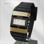 ワイズ アンド オープ 腕時計 セブンティセブン ブラック×ゴールド WO-77-1