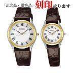 セイコー ペア腕時計 SACM152 & SWDL162 ドルチェ & エクセリーヌ クオーツ ペアウォッチ (長期保証5年付)