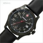 ウェンガー 腕時計 70475 海外モデル クオーツ ALPINE アルパイン ブラック メンズ (SB)