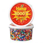 ハマビーズ 丸ボックス 基本(3000ピース)