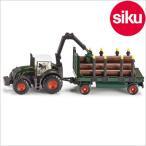 Siku ジク社輸入ミニカー 1861 ファーマー 木材運搬トラクター 1/87
