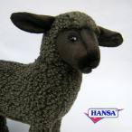 HANSA ハンサ ぬいぐるみ 3454 ブラックシープ 30 BLACK SHEEP