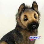 HANSA ハンサ ぬいぐるみ 3995 シェパード 子犬 56 GERMAN SHEPHERD