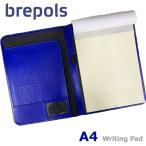 BREPOLS ブレポルス パレルモ ライティングパッド A4 ブルー レポートパッドホルダー レポートカバー
