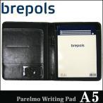 BREPOLS ブレポルス パレルモ ライティングパッド A5 ブラック レポートパッドホルダー レポートカバー