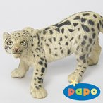 papo (パポ社) 動物フィギュア 50160 ユキヒョウ
