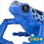 papo (パポ社) 動物フィギュア 50175 ヤドクガエル(青)