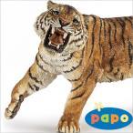 papo (パポ社) 動物フィギュア 50182 トラ(吠)