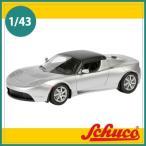 Schuco(シュコー)社ミニカー 450897600 テスラ ロードスター シルバー 1/43