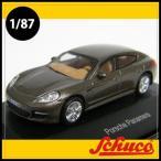 Schuco(シュコー)社ミニカー 452605000 ポルシェパナメーラ ブラウンメタリック 1/87