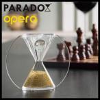 インテリア砂時計 paradox パラドックス opera オペラ 金 ゴールド