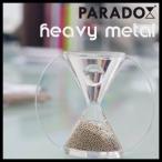 インテリア砂時計 paradox パラドックス heavy metal ヘビーメタル 銀 シルバー