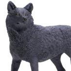 サファリ社 動物フィギュア 112989 ワイルドライフワンダーズ ブラックウルフ(オオカミ/狼)