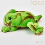 ぬいぐるみ101 ヤドクガエル グリーン カエル かえる 蛙 両生類のヌイグルミ