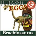 ジオワールド社 恐竜フィギュア ジュラシックエッグ 恐竜組み立てキット ブラキオサウルス