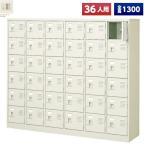 日本製 シューズボックス 36人用 鍵付 6列6段 扉付 スチール製 下駄箱 シューズロッカー シューズラック オフィス家具 完成品 法人様限定