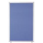 大特価 送料無料キャンペーン 超軽量組立簡単 ローパーティション パーテーション H1200×W700 GDP-1207ブルー色 オフィス家具