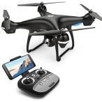 Holy Stone ドローン GPS搭載 広角HDカメラ付き フォローミーモード FPVリアルタイム 高度維持 国内認証済み HS100 (ブラック 720P)
