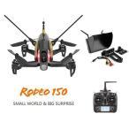 WALKERA RODEO 150 FPV5.モニター選択 DEVO 7付き レーシング 3D版 RC クアッドコプター 2.4GHz  (600TVL カメラ/バッテリー/充電器付き)