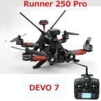 WALKERA Runner 250 PRO ワルケラ 純正 800tvhカメラ 充電器 GPS OSD 付き Devo7 セット RTF レース用ドローン