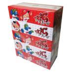 ティッシューペーパー まとめ買い カープティッシュ 5箱パック 1箱=300枚(150組)
