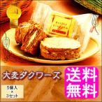 送料無料 ポイント消化 大麦ダクワーズ 【5個入×3箱】
