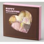 バレンタインハートチョコボックス(ハートチョコ5粒入) ご注文は、100個以上でお願いします。