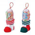 プチギフト 粗品 記念品 クリスマス ミニニットブーツ   ご注文は、108個単位でお願いします。 2475410