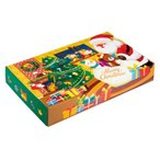 プチギフト 粗品 記念品 サンタクロースボックスティッシュ40W   ご注文は、100個単位でお願いします。 2923649