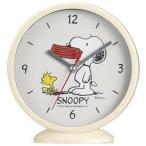 置時計のスヌーピー 2WAYアナログクロック 【購入単位:7個〜】周年記念/プリント/勤続記念