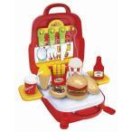 【粗品 記念品】ままごとリュック ハンバーガーショップセット  お祭り/お子様ランチに!