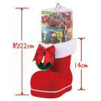 クリスマス お菓子 ブーツ クリスマスブーツ 大 お菓子入 ご注文は、20個以上でお願いします。 jm21b12-53