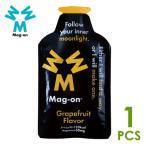 Mag-on マグオン エナジージェル グレープフルーツフレーバー×1個 サプリメント ランニング マラソン エネルギー補給